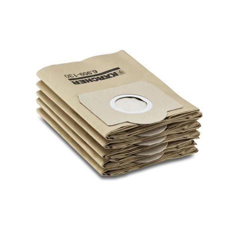 Imagem de Filtro de papel 5 peças para aspirador de p - Karcher