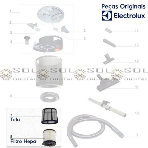 Imagem de Filtro Hepa com malha Electrolux original para aspirador Easybox 1600