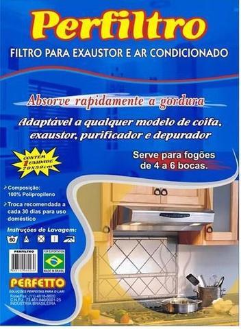 Imagem de Filtro Para Coifa Suggar Exaustor Para Fogão De 4 E 6 Bocas