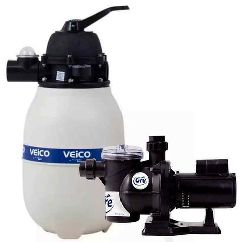 Imagem de Filtro para Piscina até 19.000 Litros com Bomba 1/3 CV c/ Pré-Filtro FLUIDRA