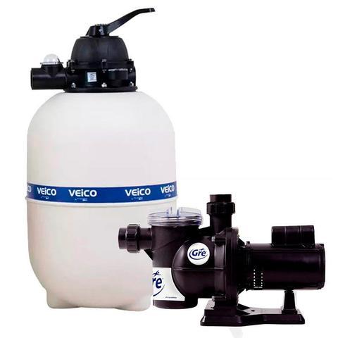 Imagem de Filtro para Piscina até 42.000 Litros com Bomba 1/2 CV c/ Pré-Filtro FLUIDRA
