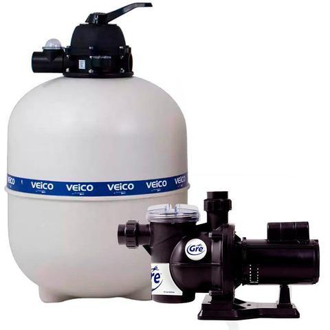 Imagem de Filtro para Piscina até 70.000 Litros com bomba 3/4 CV c/ Pré-Filtro FLUIDRA