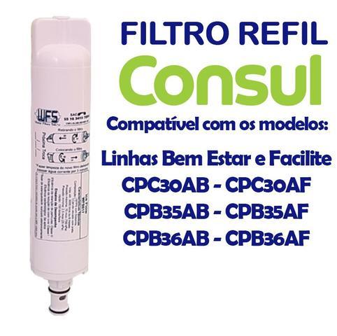 Imagem de Filtro Refil Para Purificador de Água Consul (todos)