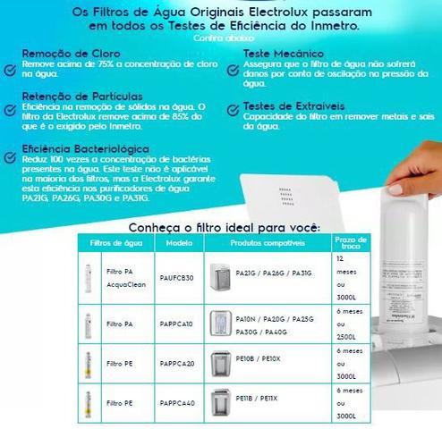 Imagem de Filtro Refil para Purificador de Água Electrolux PA21G, PA26G e PA31G