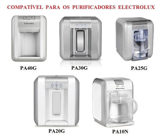 Imagem de Filtro Refil para Purificador Electrolux PAPPCA10 Original Kit 3 Peças