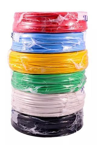 Imagem de fio cabo flexível cobre 2,5mm AZUL POR METRO