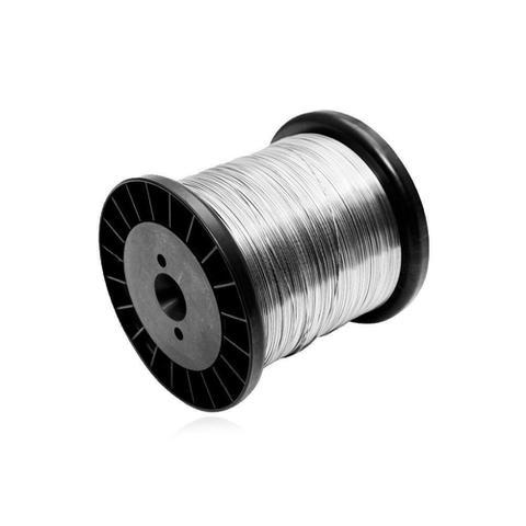 Imagem de Fio de Aço Inox 0,90 mm para Cerca Elétrica Carretel 1000g