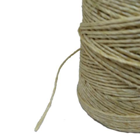 Imagem de Fio de Sisal 700/1 Natural Razado 650 metros 1 kg artesanato uso geral Apaeb
