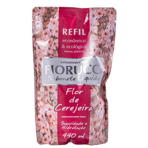 Imagem de Fiorucci Flor de Cerejeira Refil - Sabonete Líquido 440ml