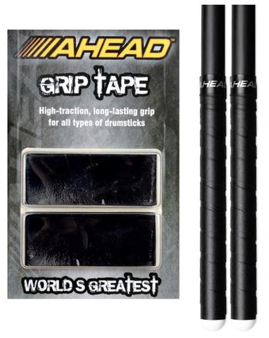 Imagem de Fita Aderente p/ Baqueta Ahead Grip Tape Black GT ajuda não escorregar a baqueta p/ todas as marcas