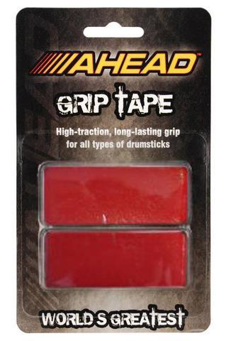 Imagem de Fita Aderente p/ Baqueta Ahead Grip Tape Red GTR ajuda não escorregar a baqueta p/ todas as marcas
