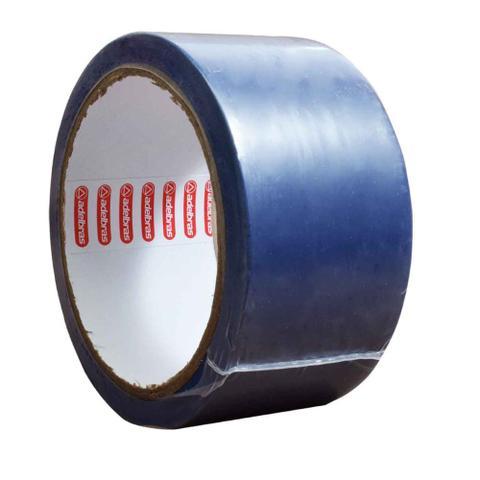 Imagem de Fita Adesiva Demarcação de Solo Adelbras 48mmx14m Azul