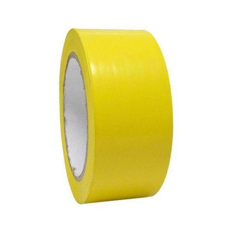 Imagem de Fita Adesiva para Demarcação e Sinalização de Solo 48mm x 30m Amarela