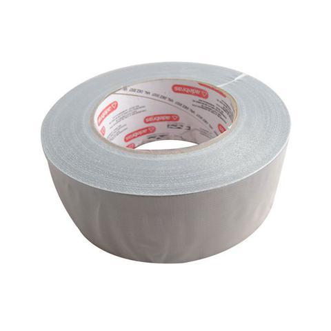 Imagem de Fita Adesiva Reforçada Silver Tape 48X50M Cinza Adelbras