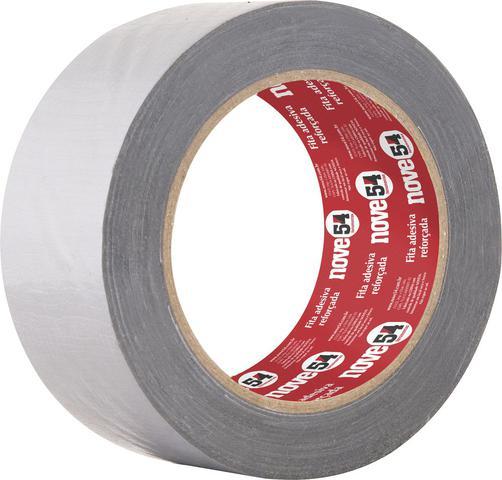 Imagem de Fita adesiva reforçada silver tape 50mmx25m prata - Nove54
