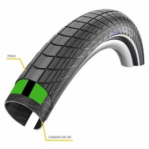 Imagem de Fita Anti Furo de Pneu Bike Safe Tire Aro 26 27,5 29 MTB Par
