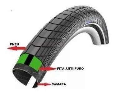 Imagem de Fita Anti Furo Safe Tire 35mm Aro 29 27.5 26 Mtb Bike