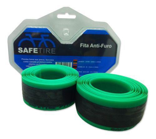 Imagem de Fita Anti Furo Safetire Aro 26 27.5 29 Par 35mm Pneu Bike