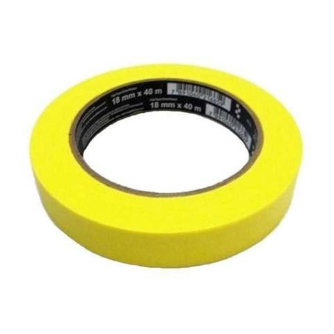 Imagem de Fita crepe 18mmx40m automotiva alta performace amarela 3m