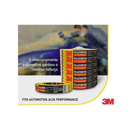 Imagem de Fita Crepe Alta Performance Automotiva 3m 18mmx40m (10 Und.)