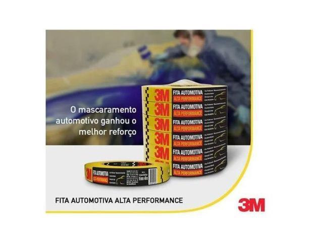 Imagem de Fita Crepe Automotiva Alta Performance 18mmx40M - 5 Und