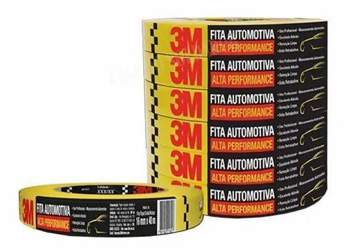 Imagem de Fita Crepe Automotiva Alta Performance 3M -16mmX40m 6Unid.