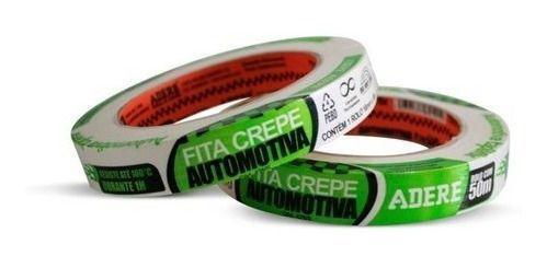 Imagem de Fita Crepe Automotiva Alta Resistencia 425/s 18mmx50m Adere