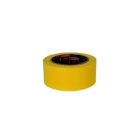 Imagem de Fita Crepe Automotiva Amarela Alta Performance 48mmx40m 6x1 - 3M