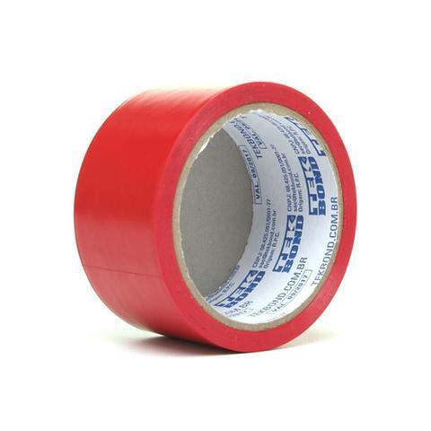 Imagem de Fita de Demarcação Super Tape Vermelha 48mm com 15 Metros