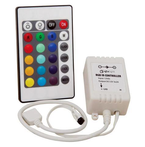 Imagem de Fita de Led 5 metros Natal Luz Colorido Rgb Com Controle Wireless 127v (Abm / JA80513)