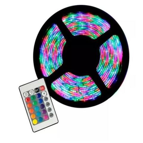 Imagem de Fita de led 5050 sem silicone ip20  rgb+controle