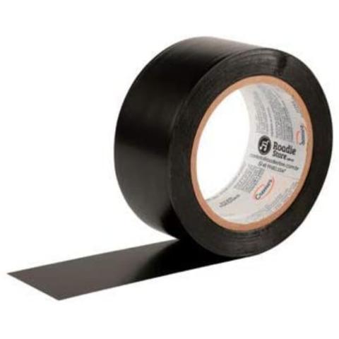 Imagem de Fita de PVC para Demarcação de Solo Cremer 48mm X 30m Preta