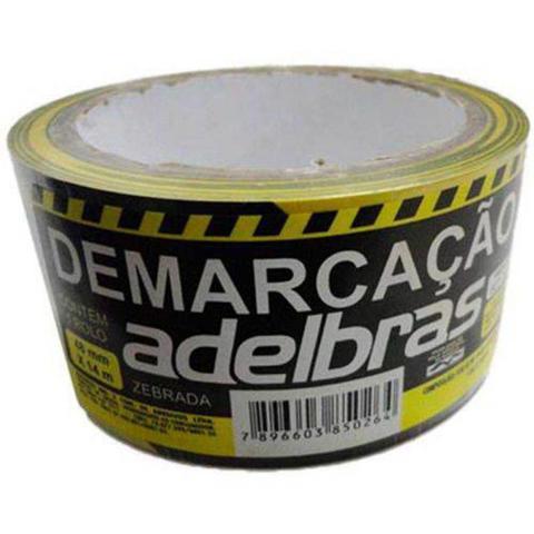 Imagem de Fita Demarcação Zebrada - Adlebras
