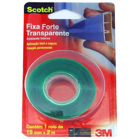 Imagem de Fita Dupla Face 19x2 Fixa Forte - 3M