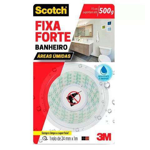 Imagem de Fita dupla face espuma banheiro - 24mmx1m - 3M