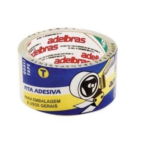 Imagem de Fita Durex Policril 25x50 Adelbras