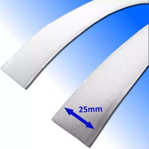 Imagem de Fita Fixação Fecho VelFix auto-adesivo - Macho + Fêmea - 25mm (largura) x 1 Metro