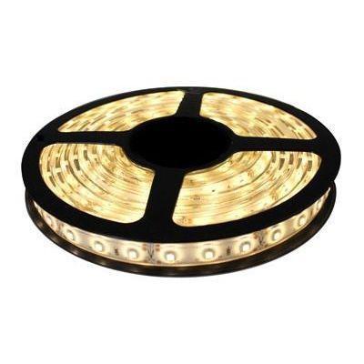 Imagem de Fita LED 5050 Branco Quente Rolo 5m com fonte 12V 2A
