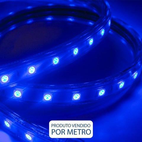 Imagem de Fita LED Azul IP-65 14,4W 127V Eletrorastro