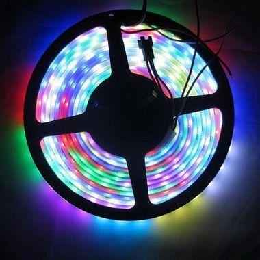 Imagem de Fita Led RGB 5050 Colorida 15 metros com Fonte/Carregador - À prova dágua
