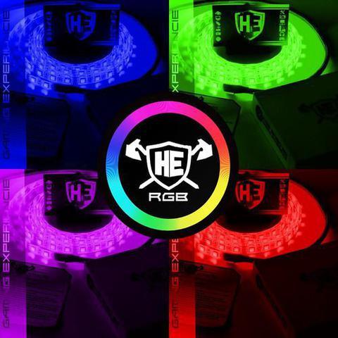 Imagem de Fita Led Rgb Pro Sleeved P/ Gabinete Pc Gamer Molex 1m PRO