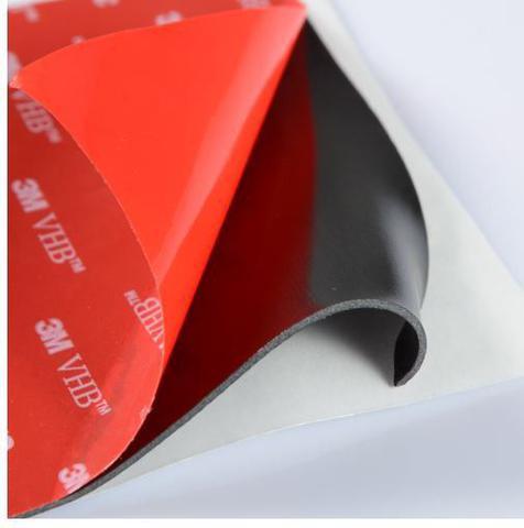 Imagem de Fita Ligação 3M Vhb Dupla Face 100x50mm - Preto