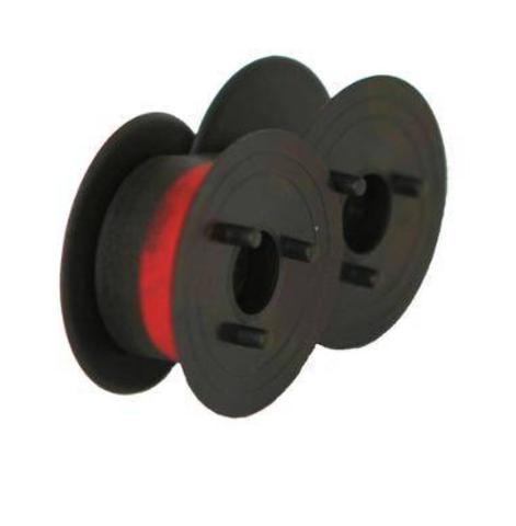 Imagem de Fita Para Calculadora Eletrônica Nylon Preta Vermelha 13x5 Texprint