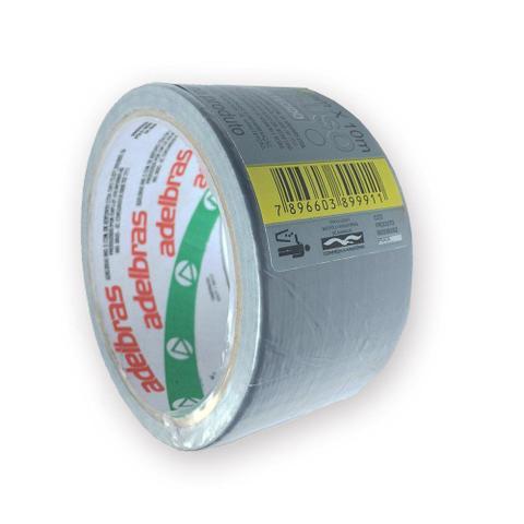 Imagem de Fita Silver Tape Adelbras 48 X 10m Cinza  803080002