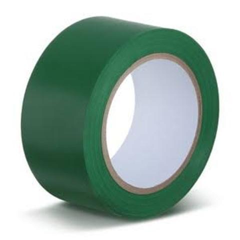 Imagem de Fita Verde para demarcação de solo piso 48mm x 30mt.