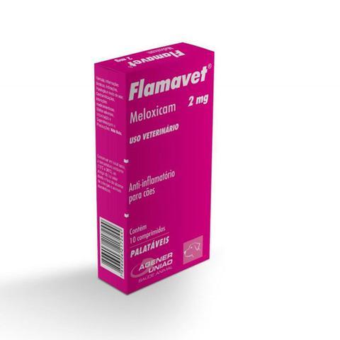 Imagem de Flamavet 2mg Anti-inflamatório Para Cães - 10 Comprimidos
