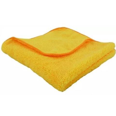 Imagem de Flanela de microfibra amarela com laranja 40x60cm autoamerica