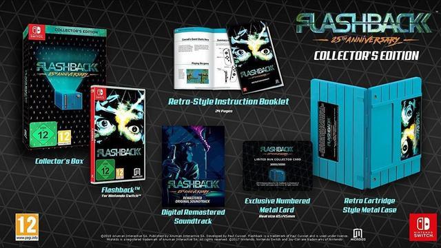Imagem de Flashback 25th Anniversary Collectors Edition - Switch