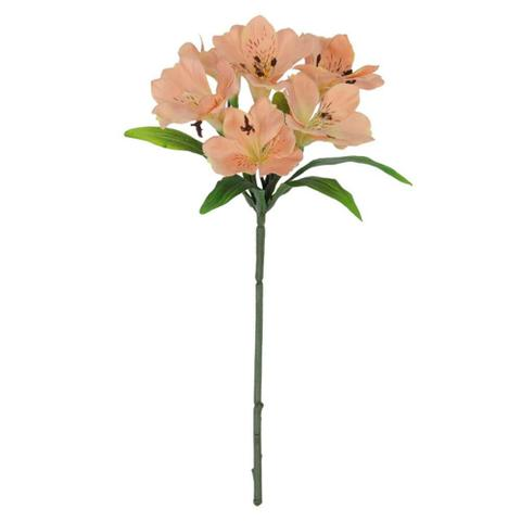 Imagem de Flor astromelia salmao 37cm