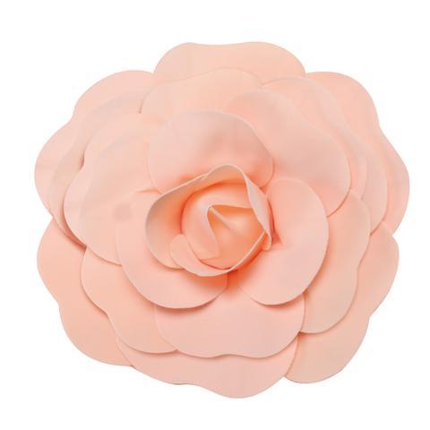 Imagem de Flor Decorativa P/Painel Pessego 30Cm Dec. Festas